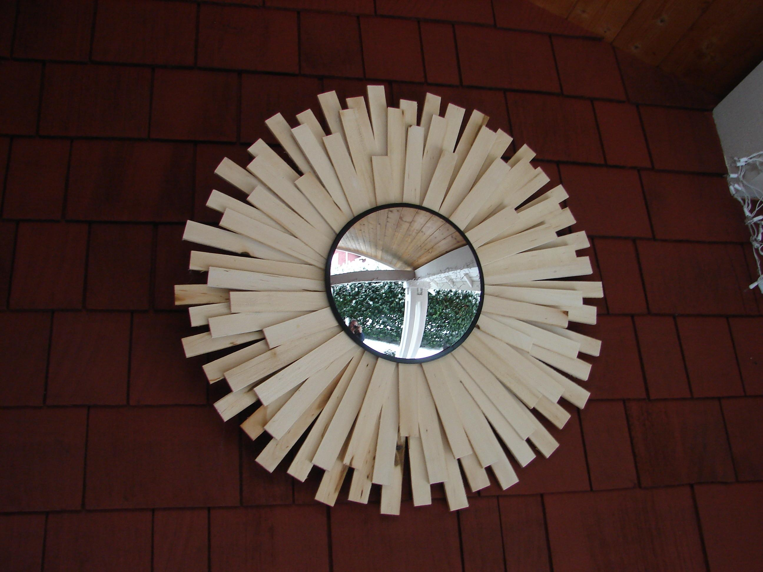 Diy Sunburst Mirror House Home