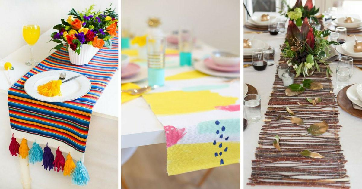 Diy Table Runner Projects Turn Your Into