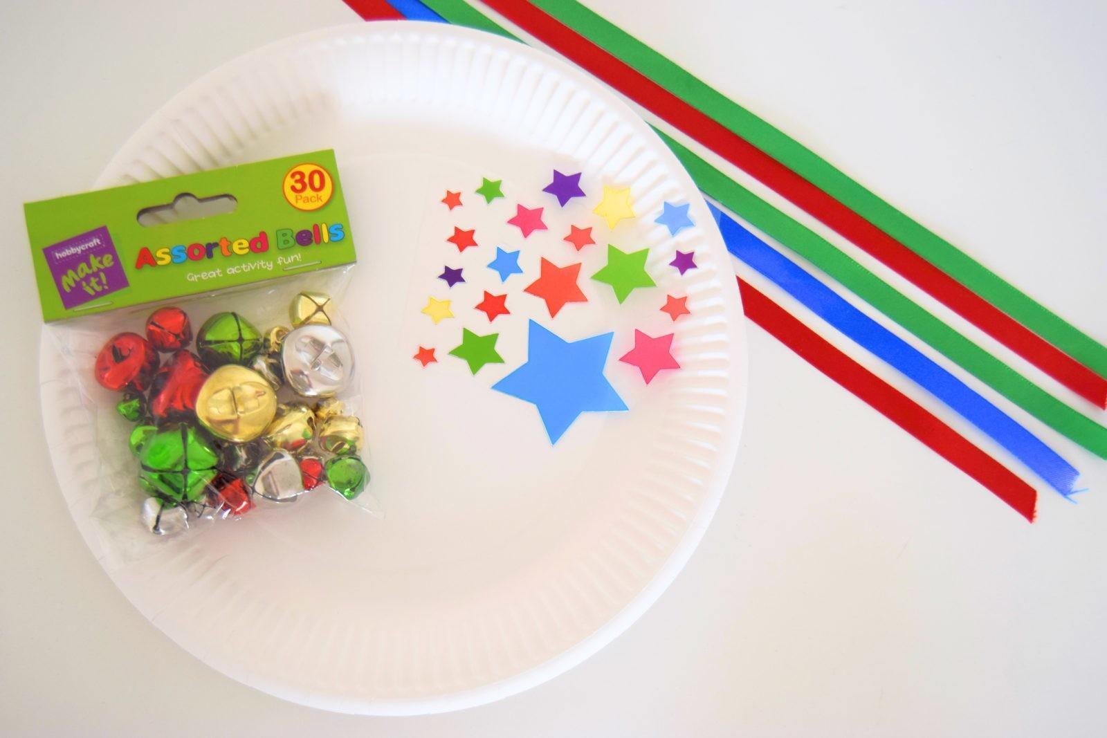 Diy Tambourine Paper Plate Craft Sticky Mud Belly Laughs