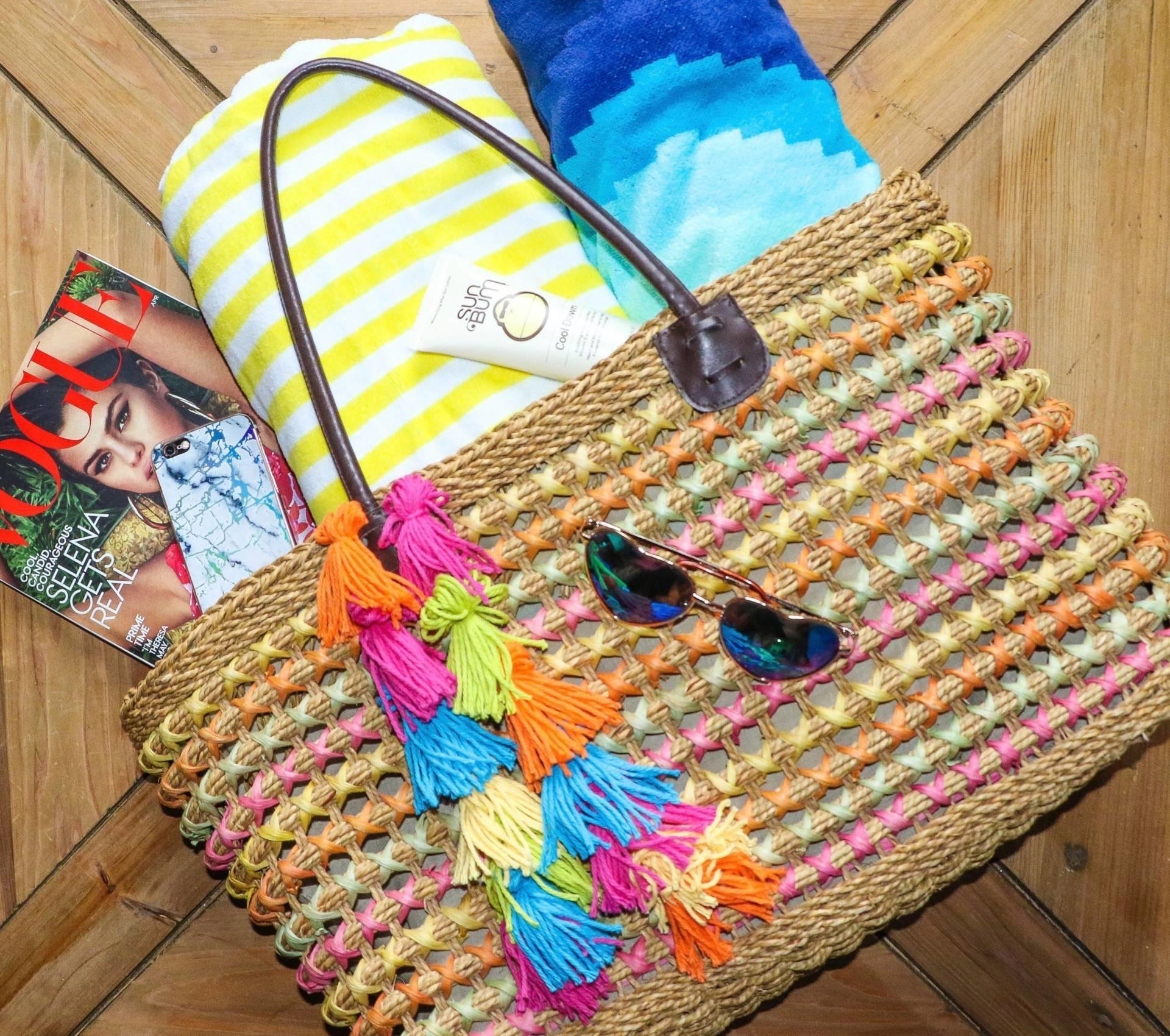 Diy Tassel Charm Beach Bag Goldwill Digger