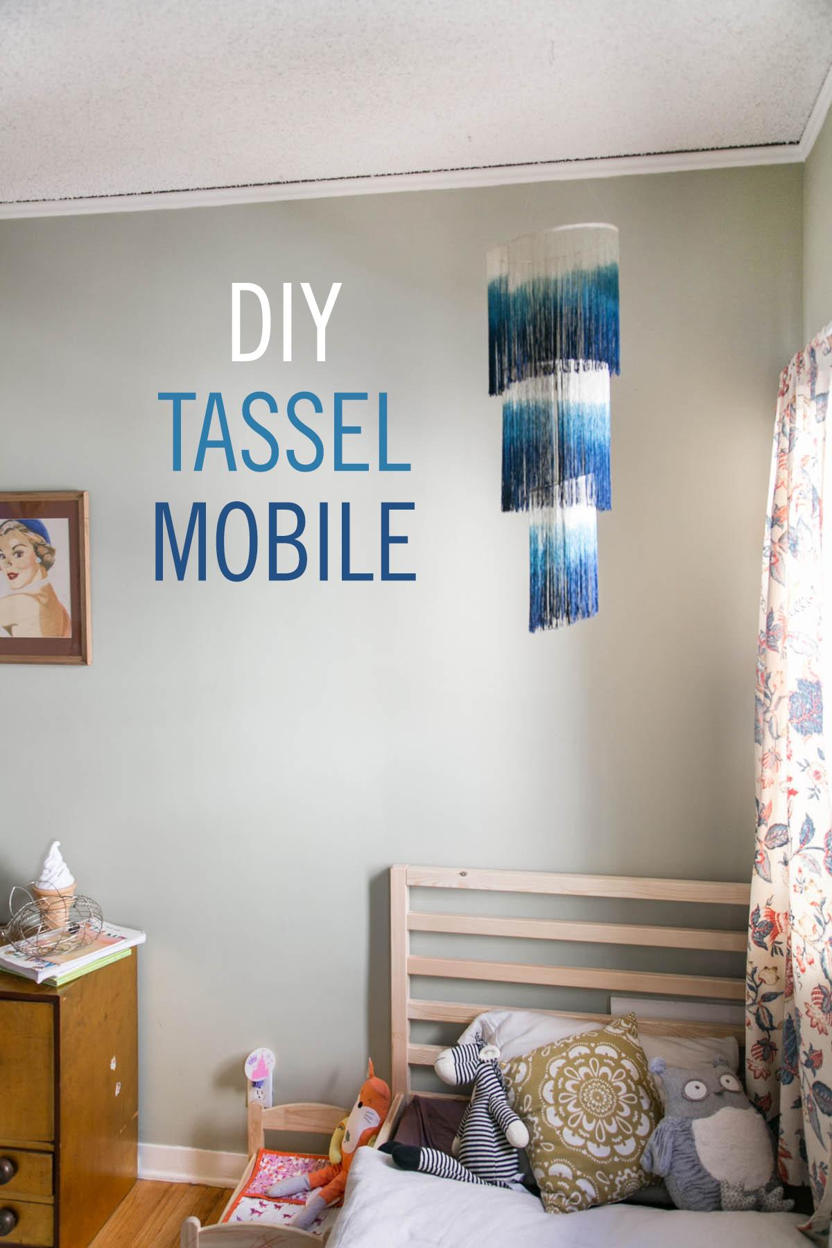 Diy Tassel Mobile Babble
