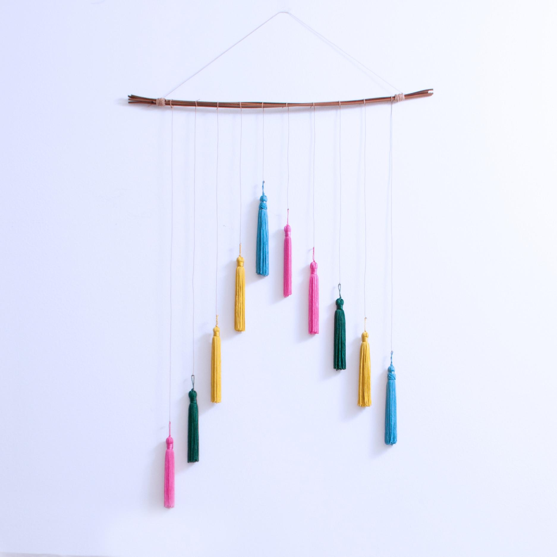 Diy Tassel Wall Hanging Blog