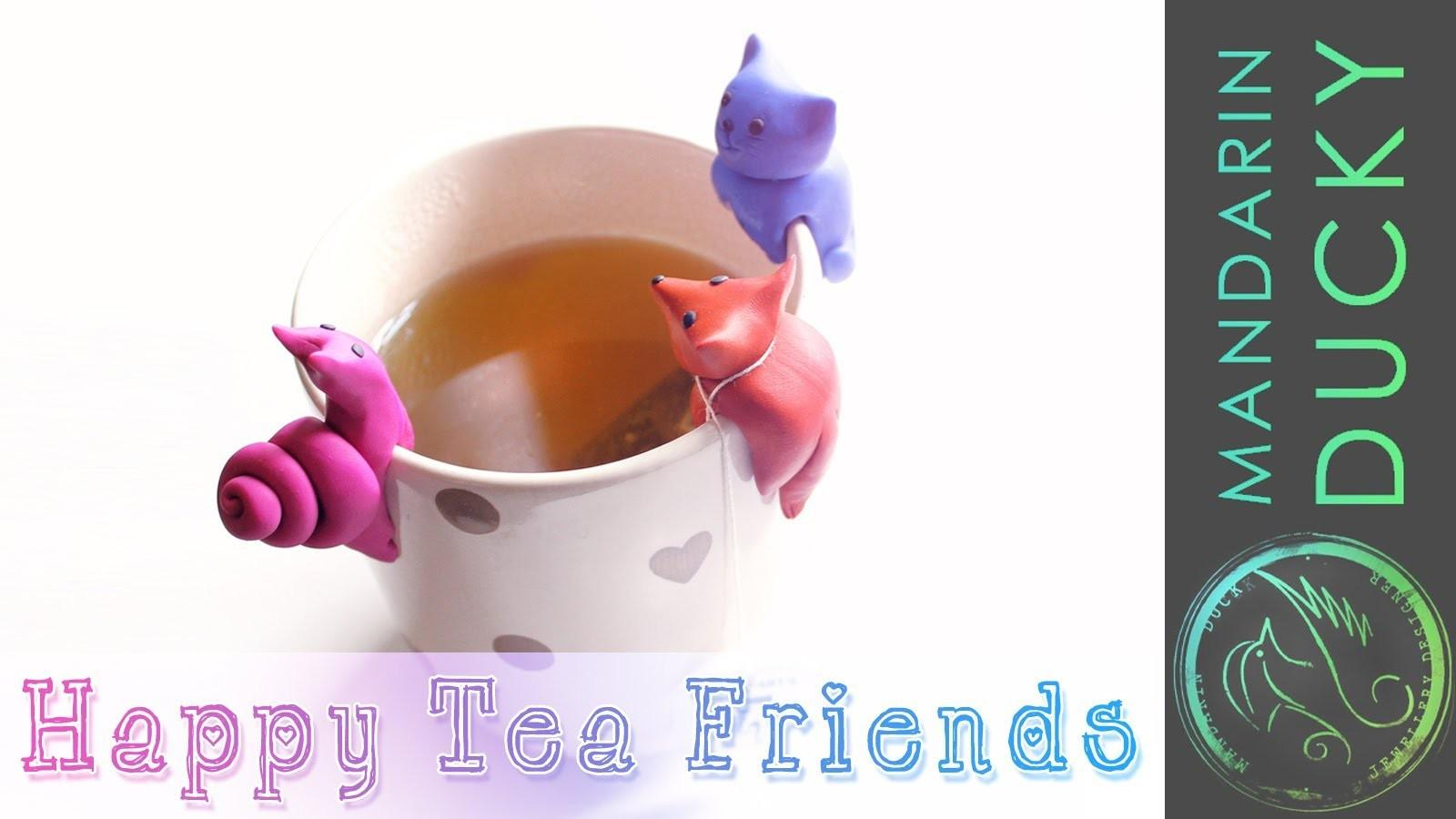 Diy Tea Party Cute Polymer Clay Figurinesdiy Project