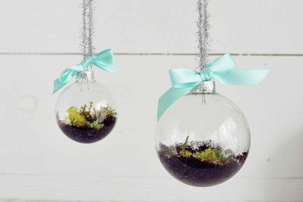 Diy Terrarium Ornaments Christmas Tree