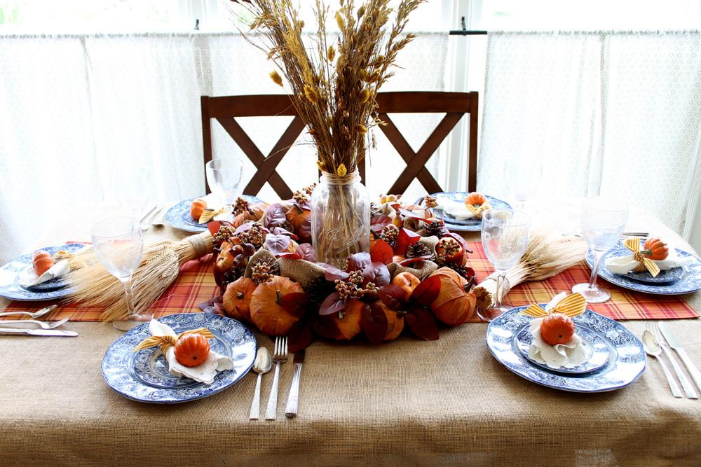 Diy Thanksgiving Decorations Your Table Country