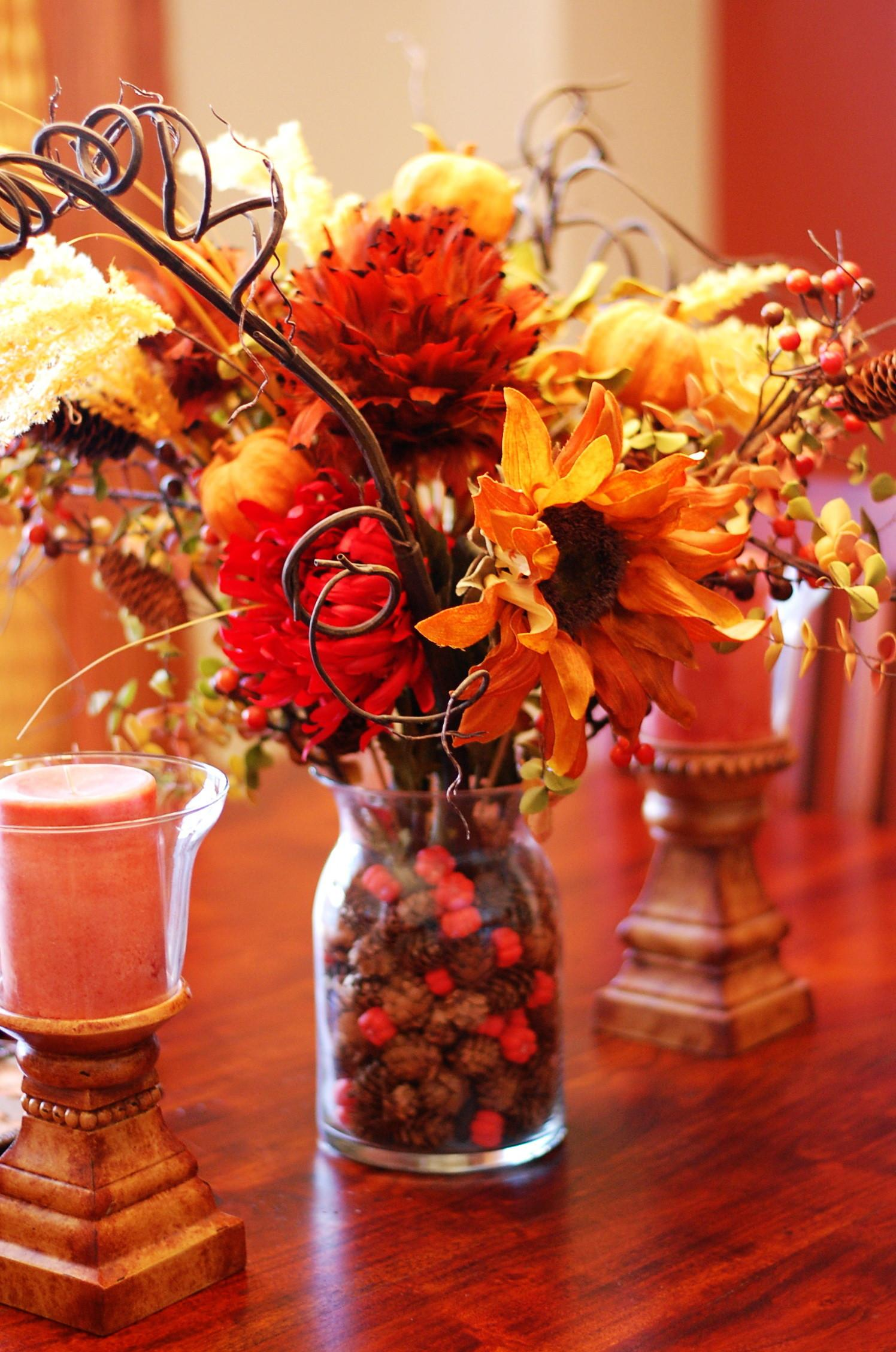 Diy Thanksgiving Flower Berries Bouquet Best Easy Home