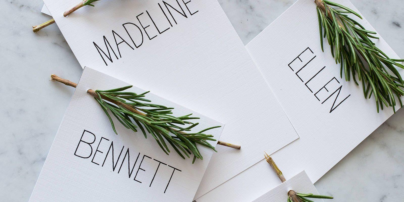 Diy Thanksgiving Place Cards Ideas Holiday