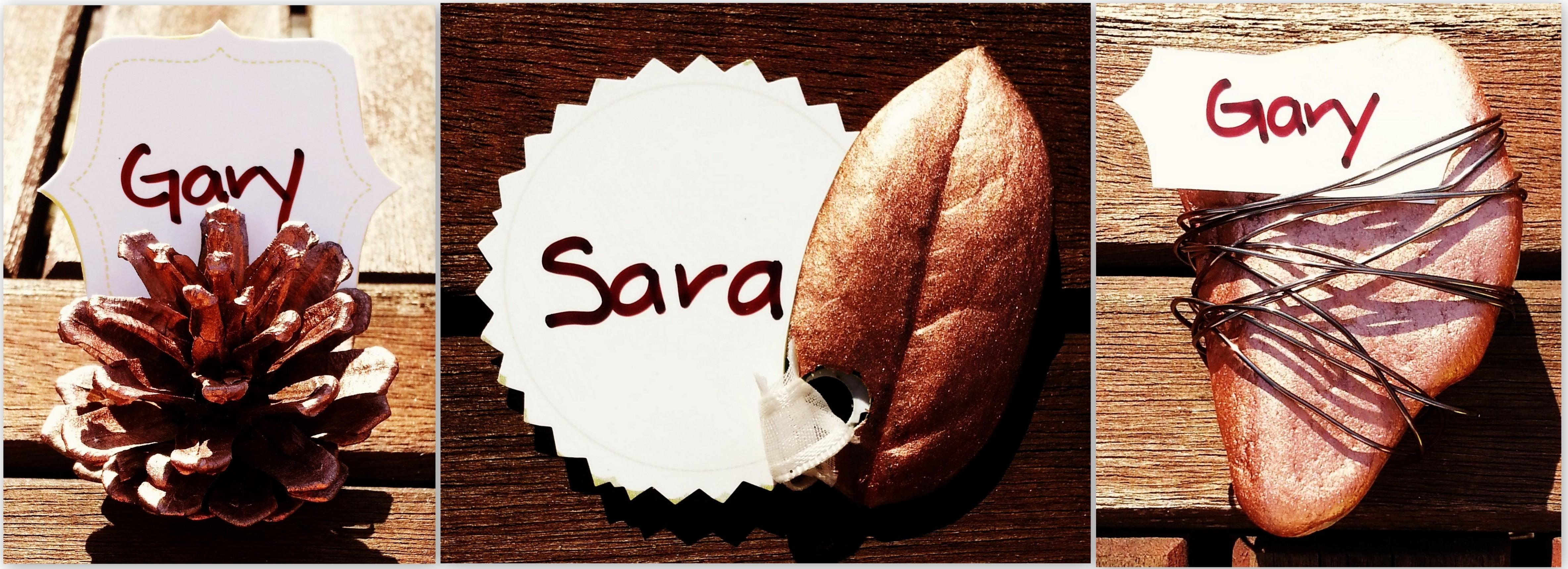 Diy Thanksgiving Place Cards Literally