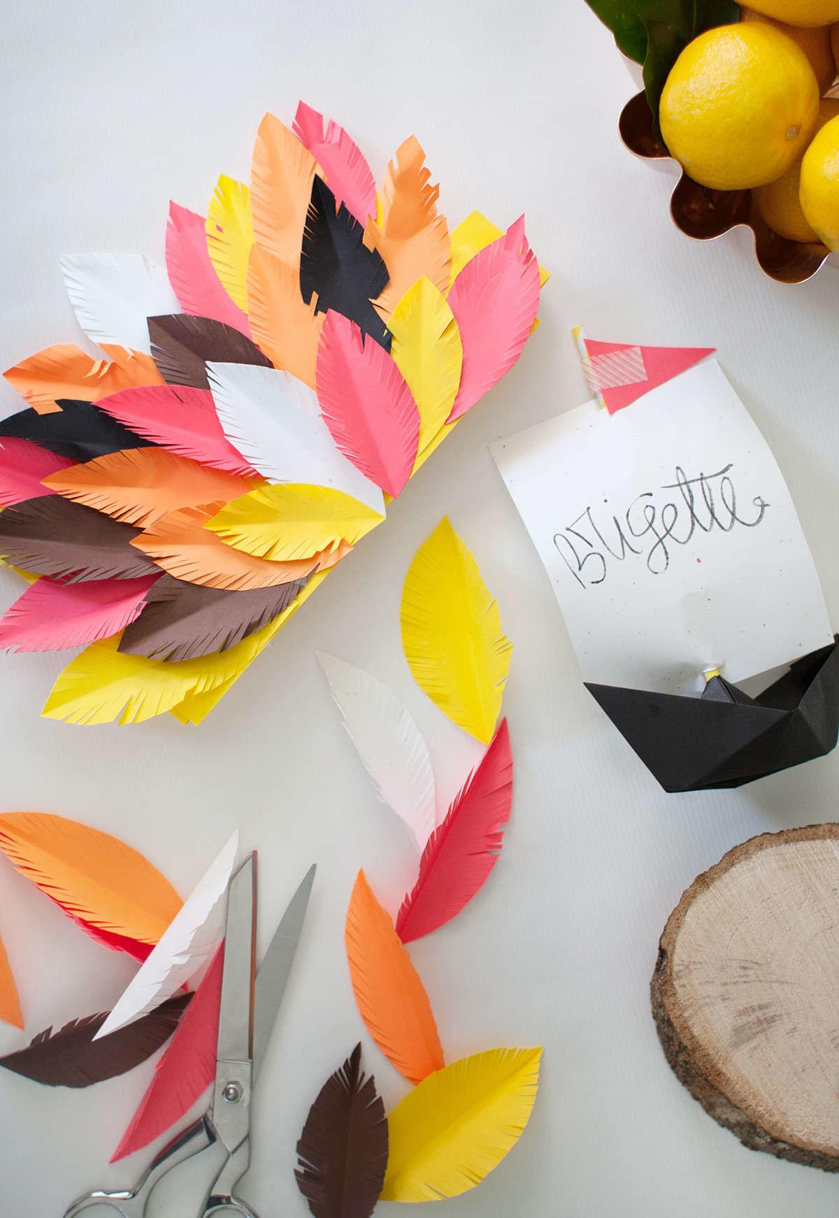 Diy Thanksgiving Table Decor Astrobrights Lay Baby