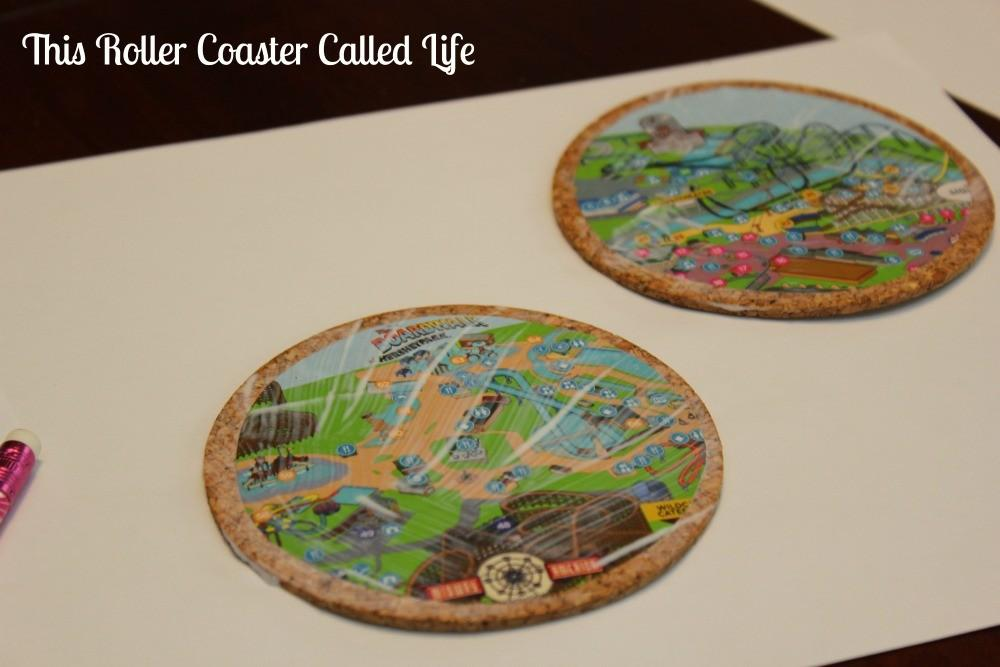 Diy Theme Park Map Coasters Roller Coaster Called Life