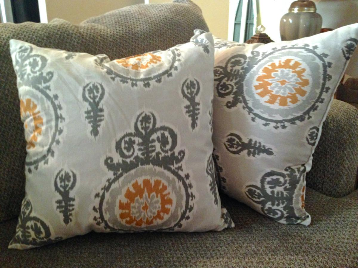 Diy Throw Pillows Lauren Marsh Brown