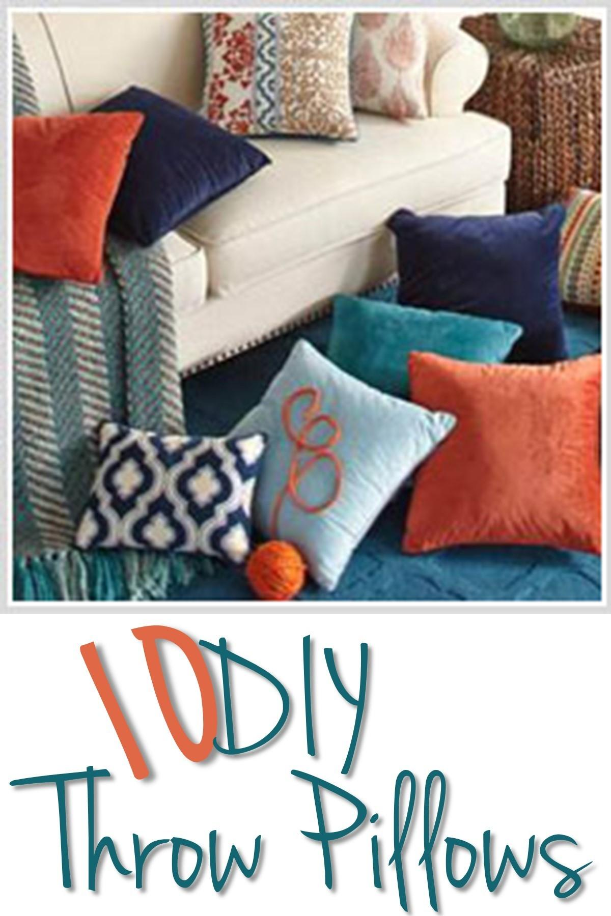 Diy Throw Pillows Put
