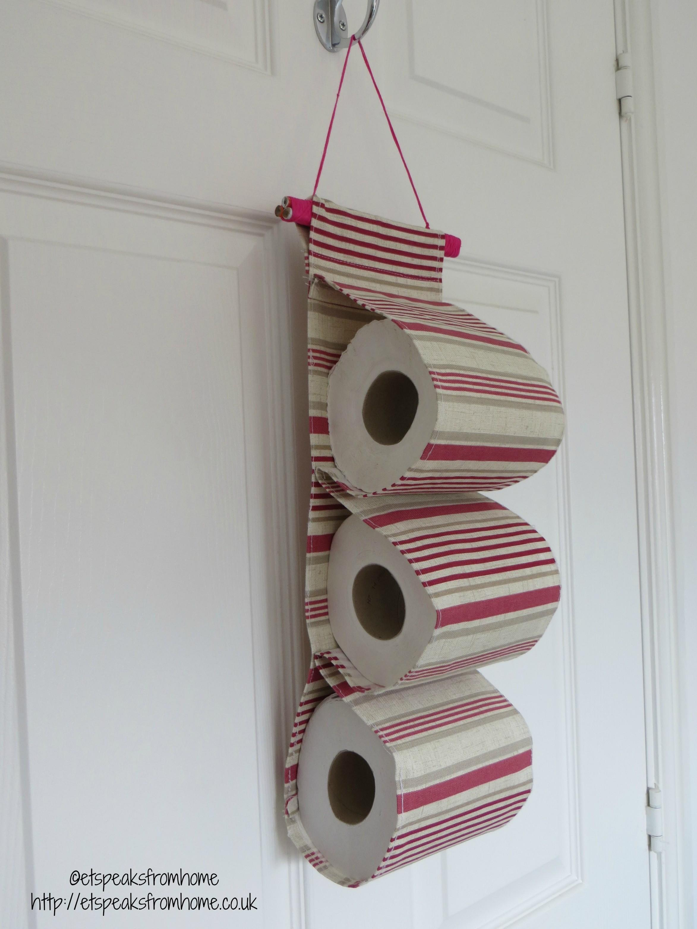 Diy Toilet Paper Holder Fabric