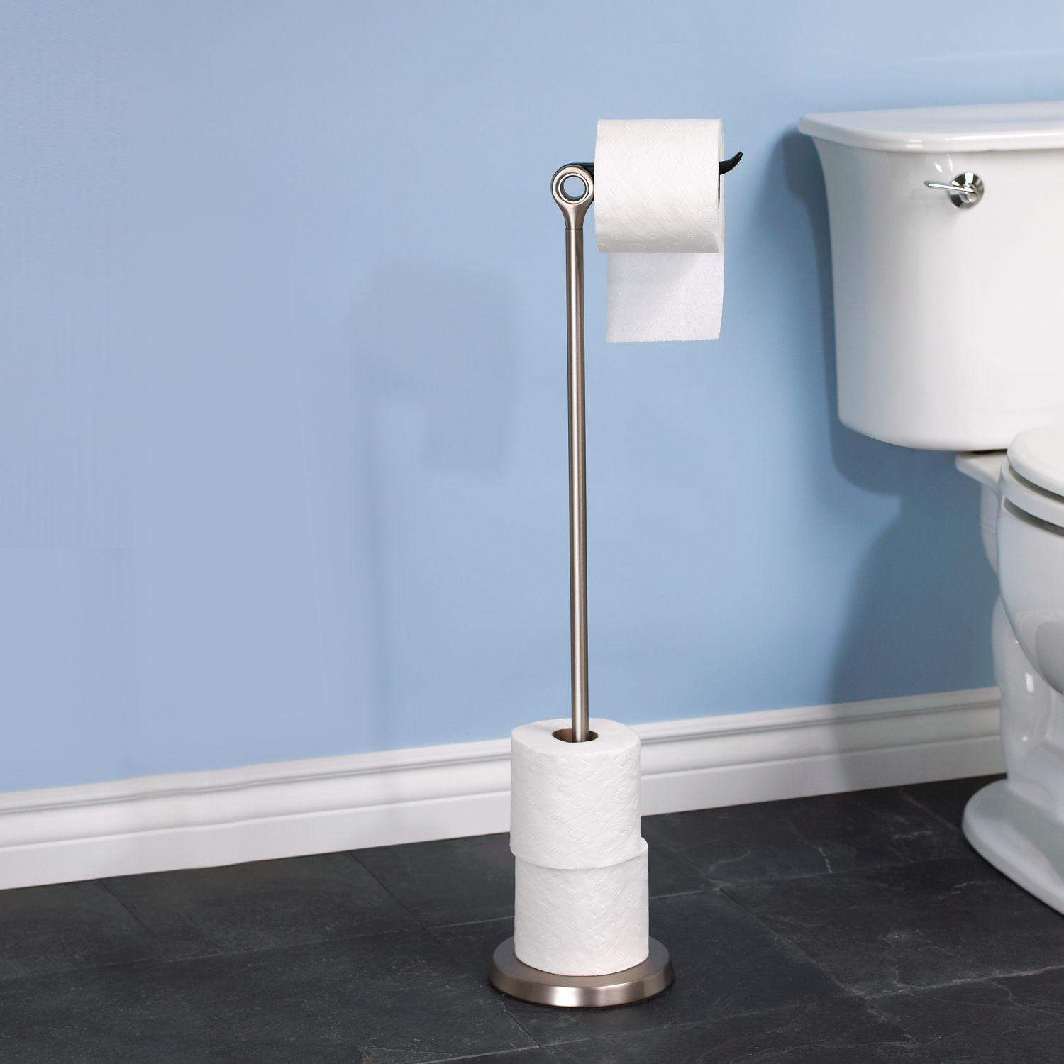 Diy Toilet Paper Holder Stand Diydry