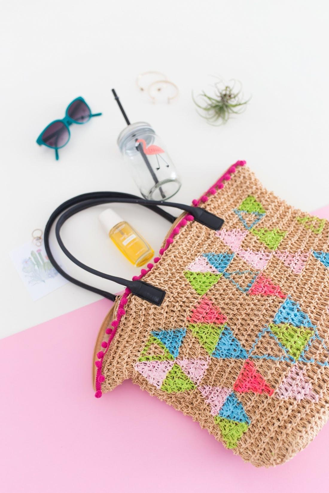 Diy Tote Bag Get Ready Your Next Beach Party