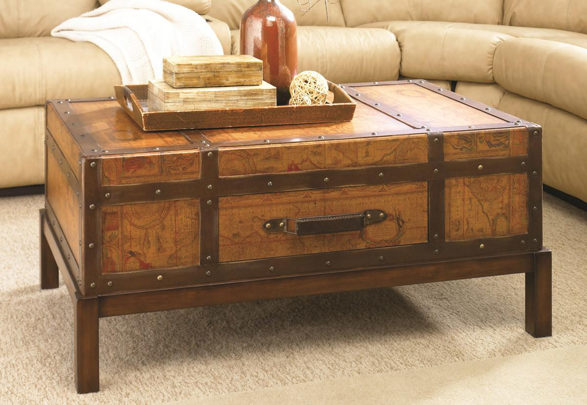 Diy Treasure Chest Coffee Table Projects
