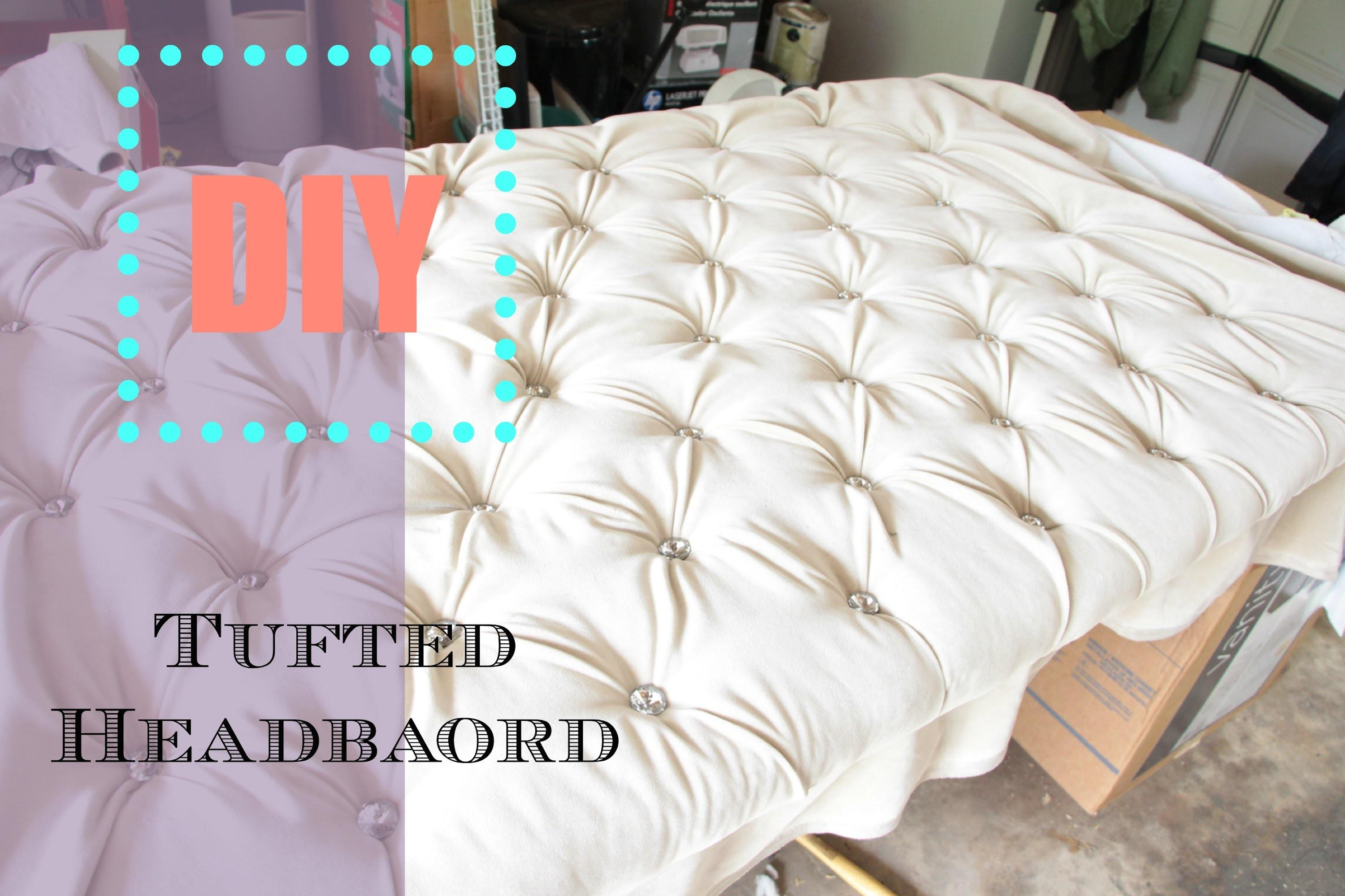 Diy Tufted Headboard Tutorial Nianicole