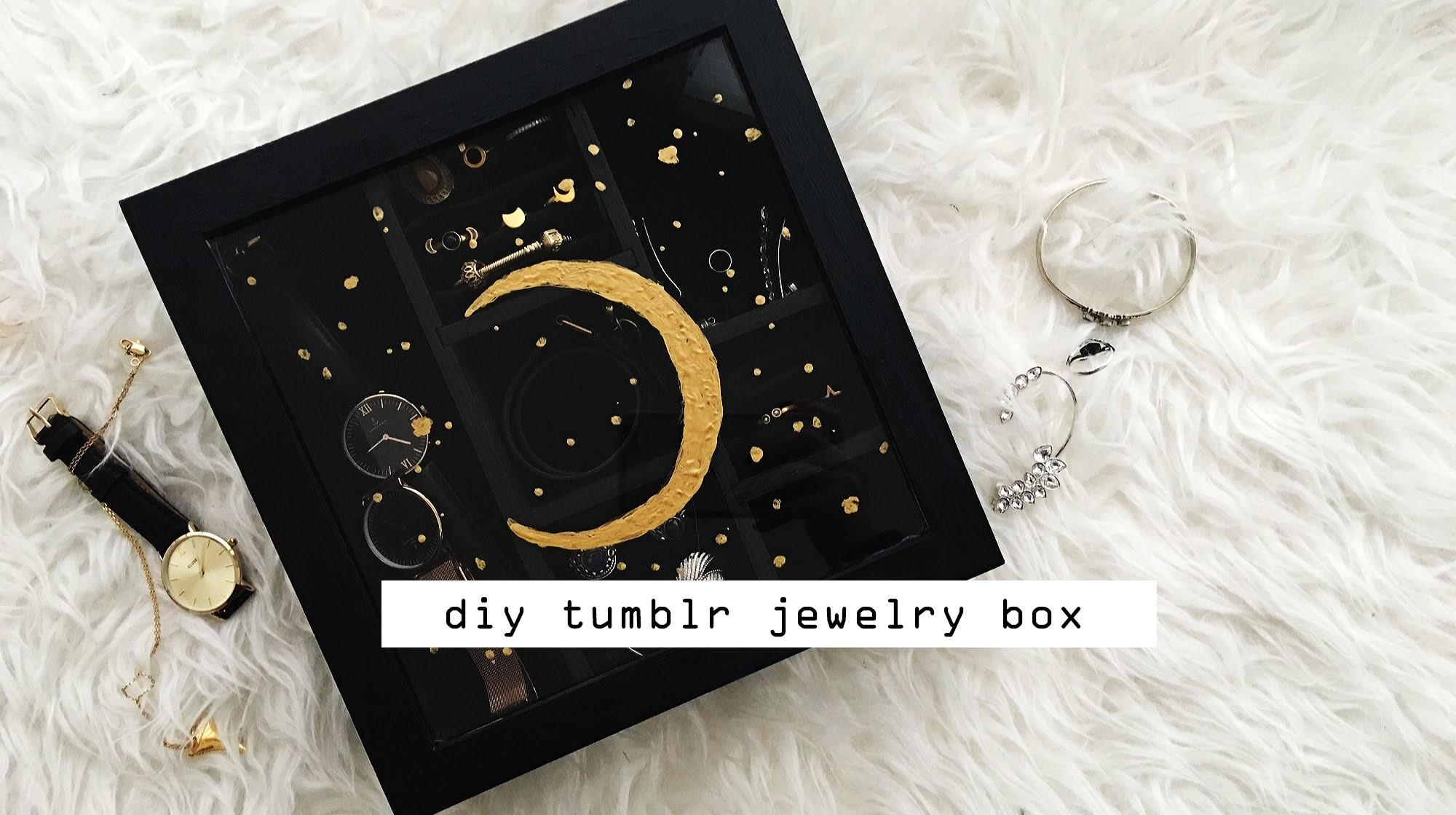 Diy Tumblr Inspired Jewelry Box Tiphaine Marie