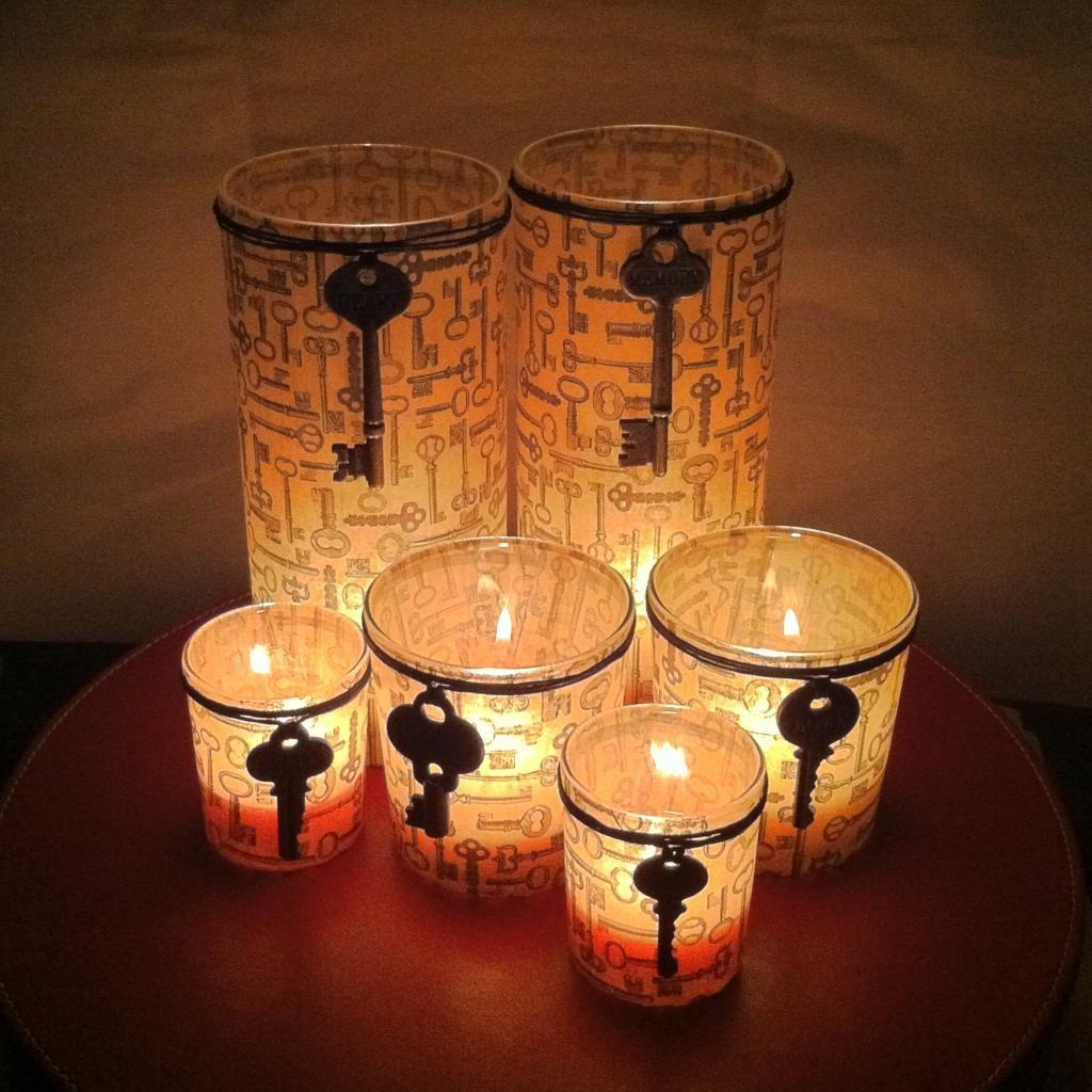 Diy Tutorial Candles Decorating Glass Candle