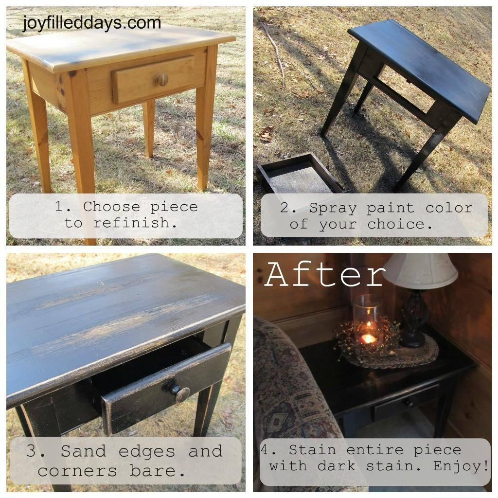 Diy Tutorial Farmhouse Primitive Look Furniture