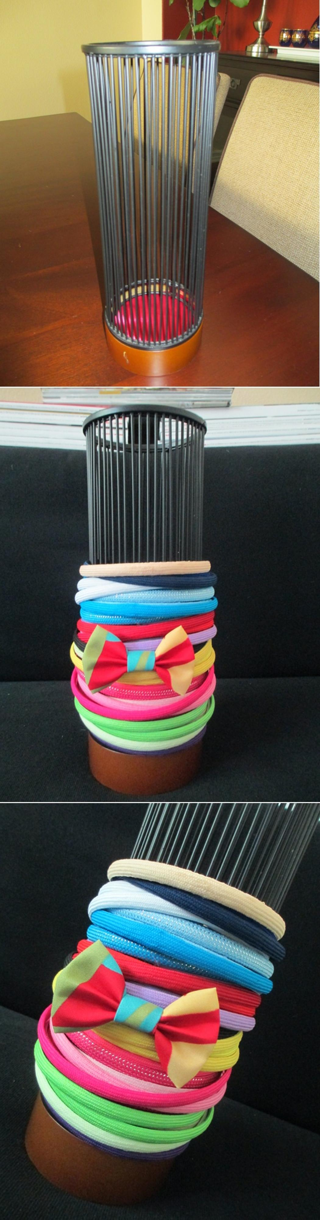 Diy Tutorial Hair Accessories Recycle Candle Holder