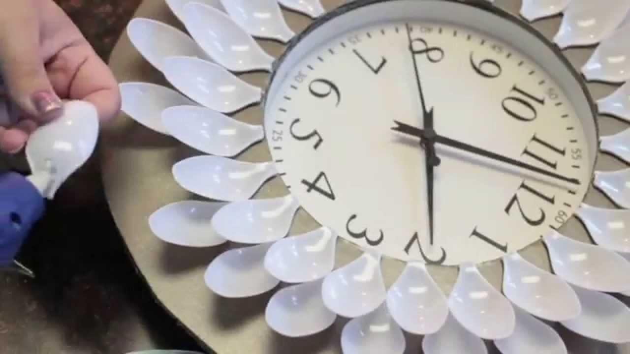 Diy Under Dollar Wall Clock