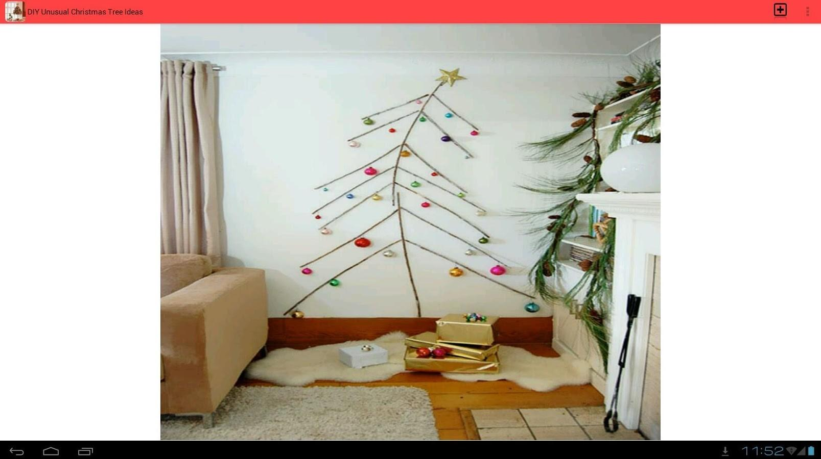 Diy Unusual Christmas Tree Android Apps Play