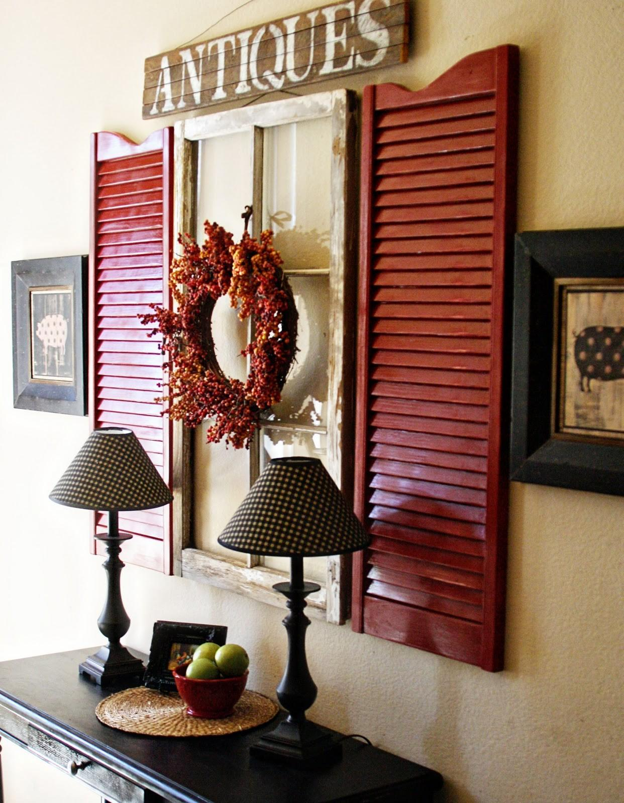 Diy Upcycle Shutters Home Decor