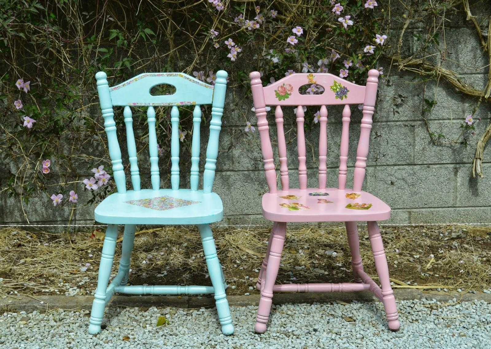 Diy Upcycled Chairs Shabby Chic Inspired Fawns Fables