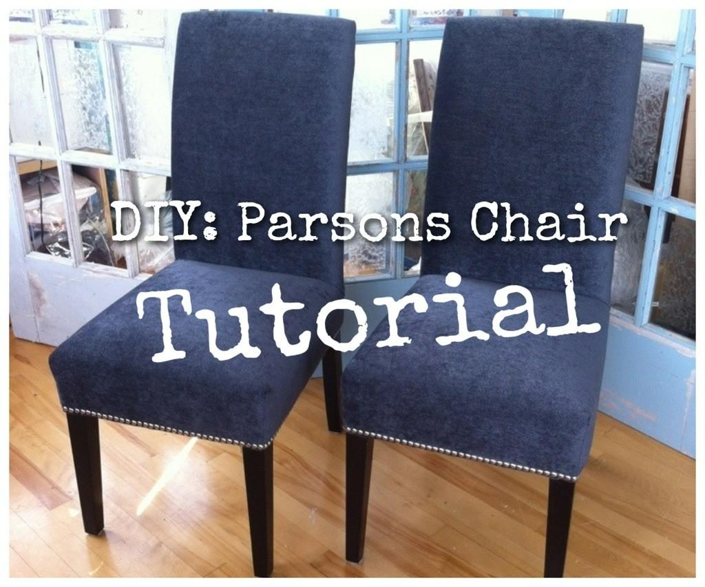 Diy Upholster Your Parsons Dining Chairs Tips