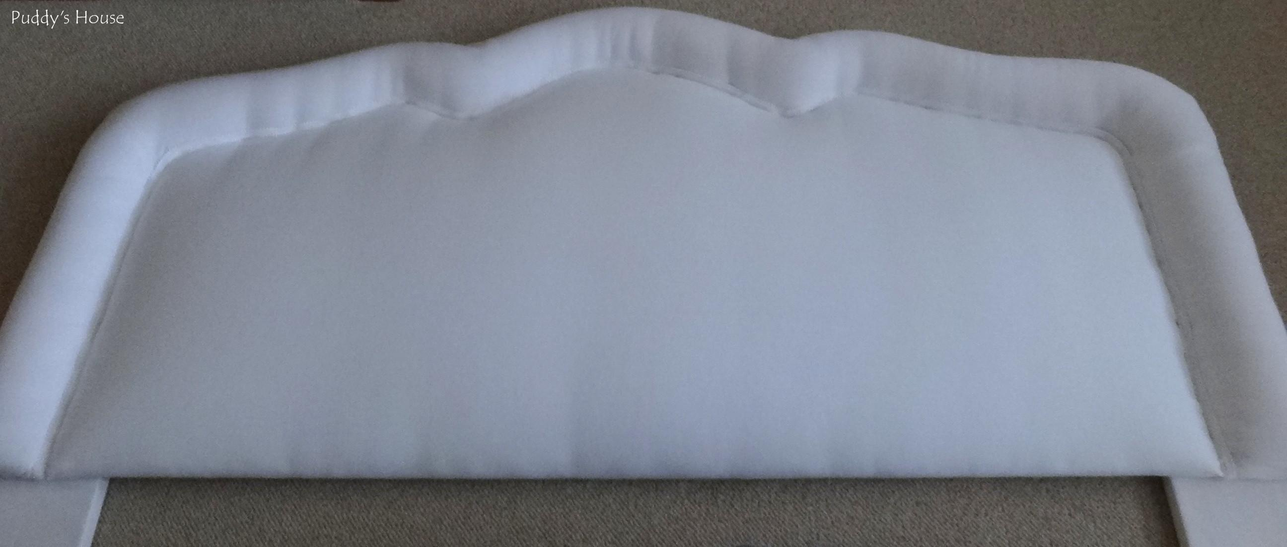 Diy Upholstered Headboard Before Puddy House
