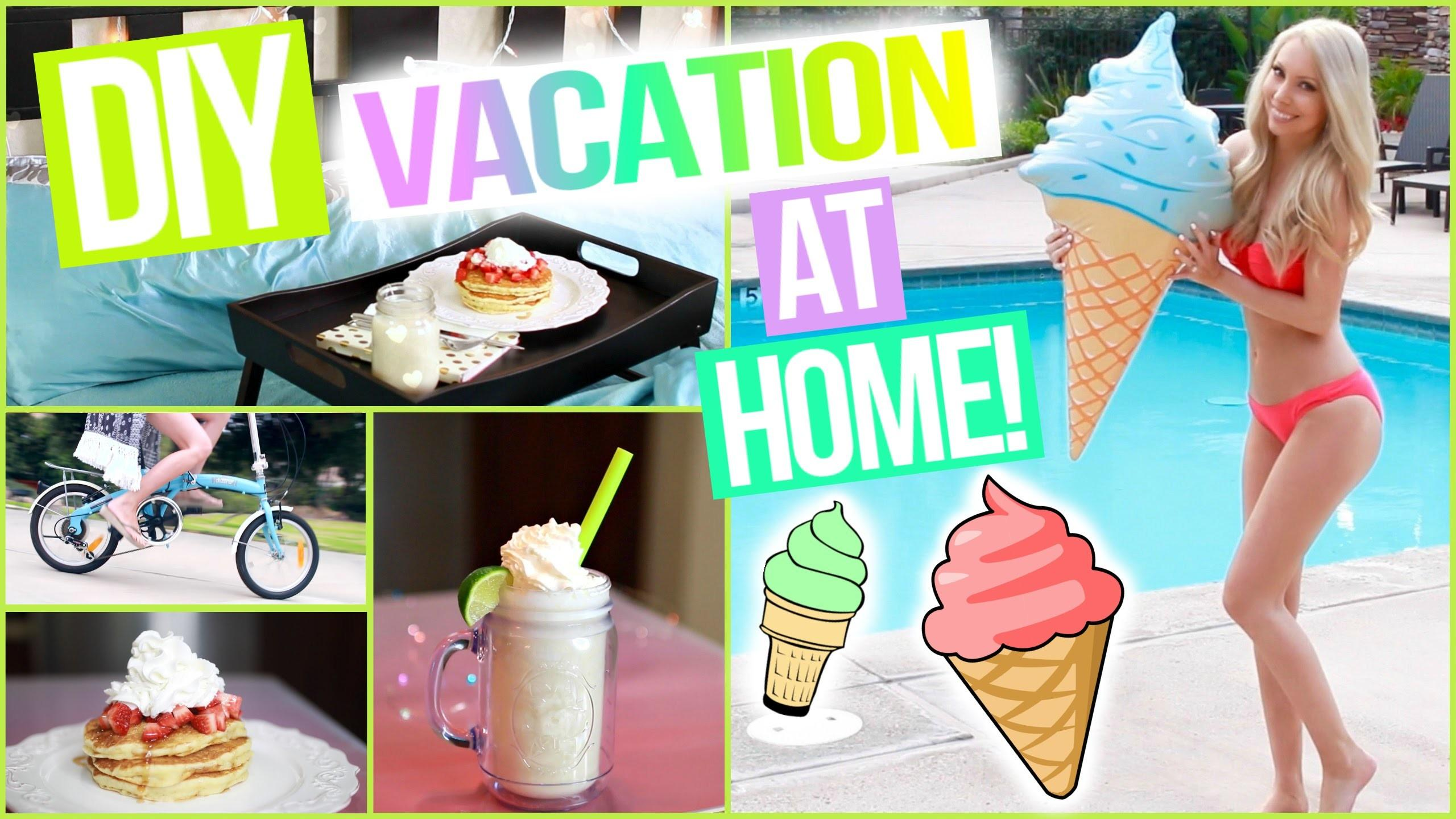 Diy Vacation Home Awesome Staycation Ideas Video