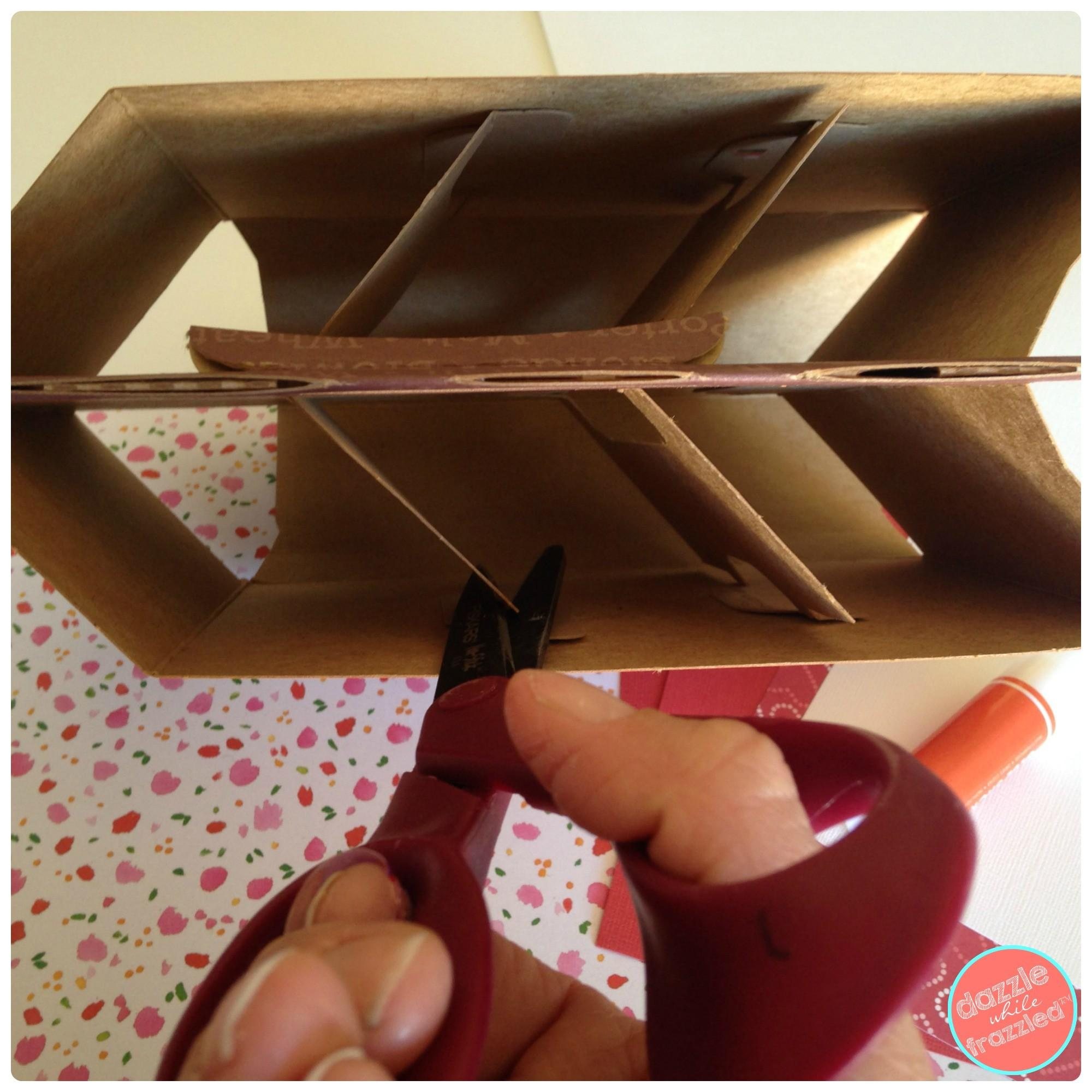 Diy Valentine Day Card Box Holder Six Pack Carrier