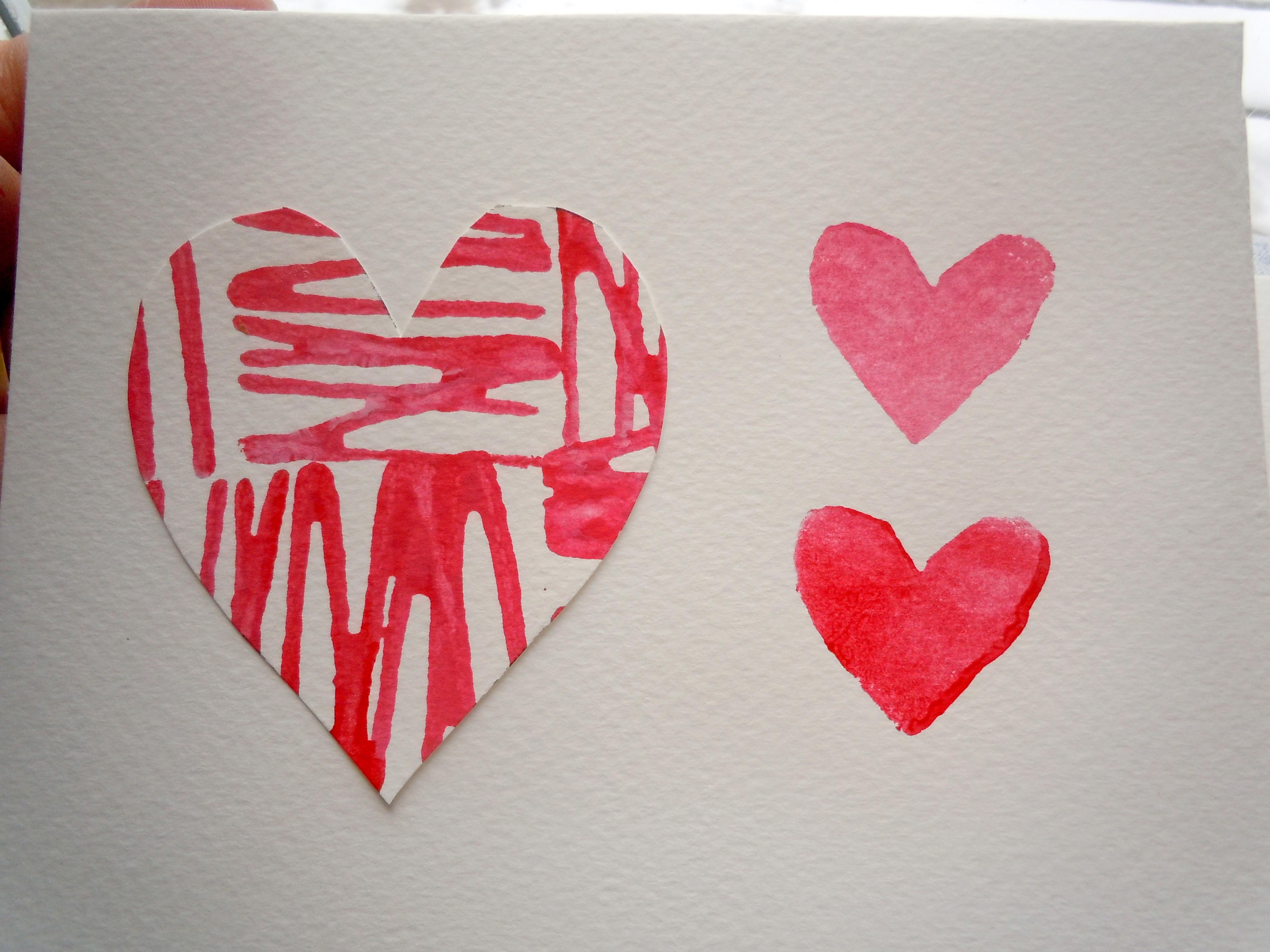 Diy Valentine Day Cards Life Craft Project