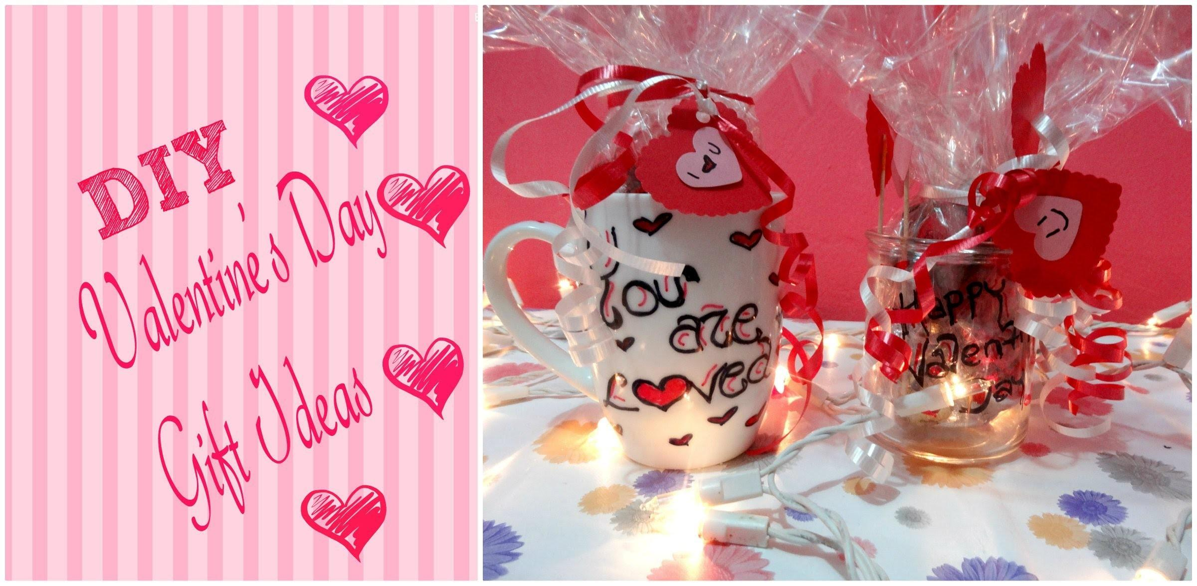 Diy Valentine Day Gift Ideas Sharpie Mug Jar