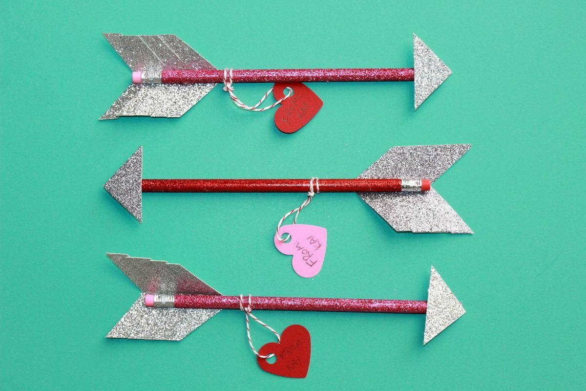 Diy Valentine Day Pencil Arrows Make Great Gifts