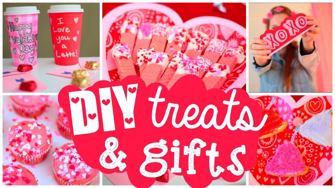 Diy Valentine Day Treats Gifts Cute Easy Ideas
