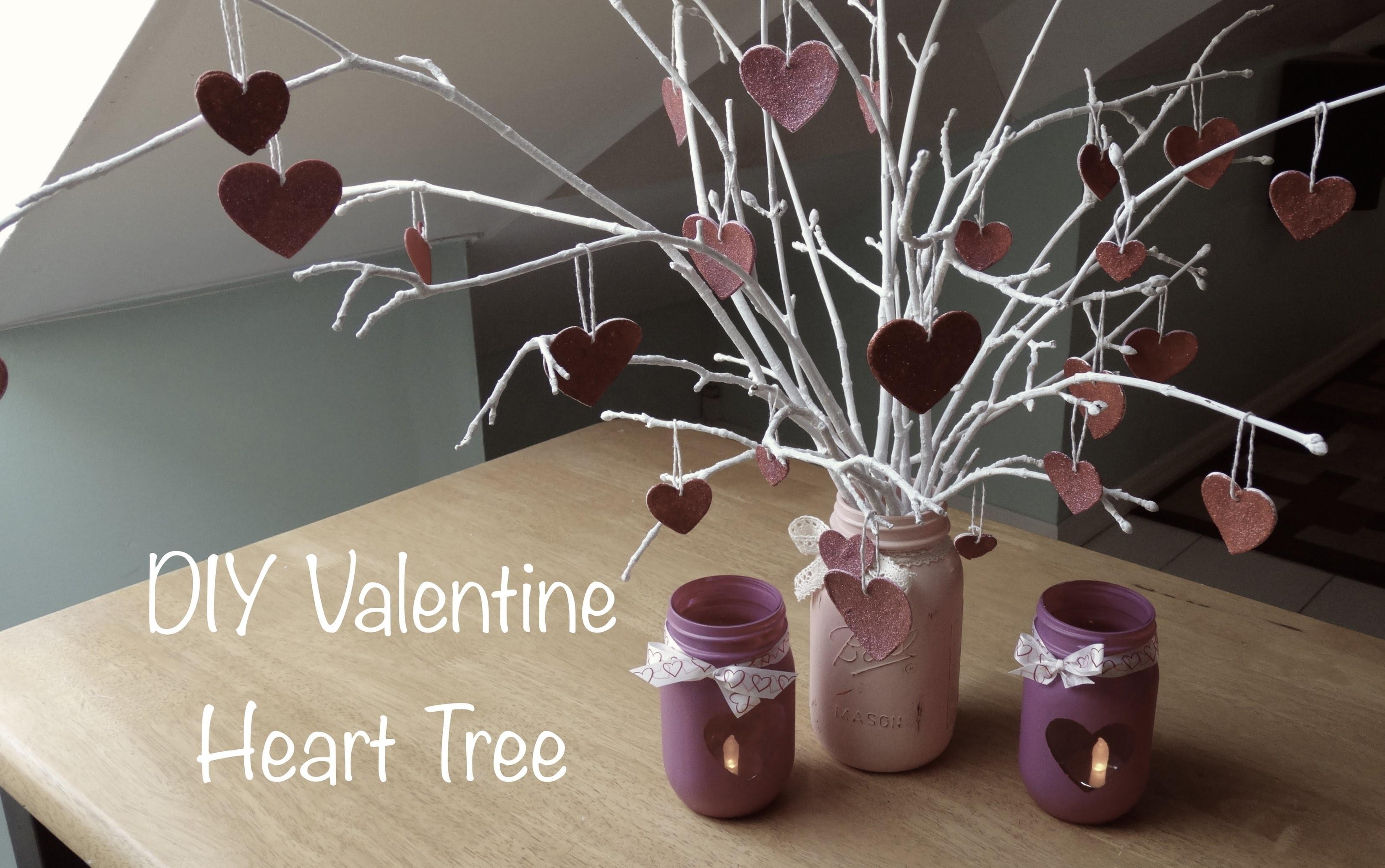 Diy Valentine Heart Tree Gifts Decor