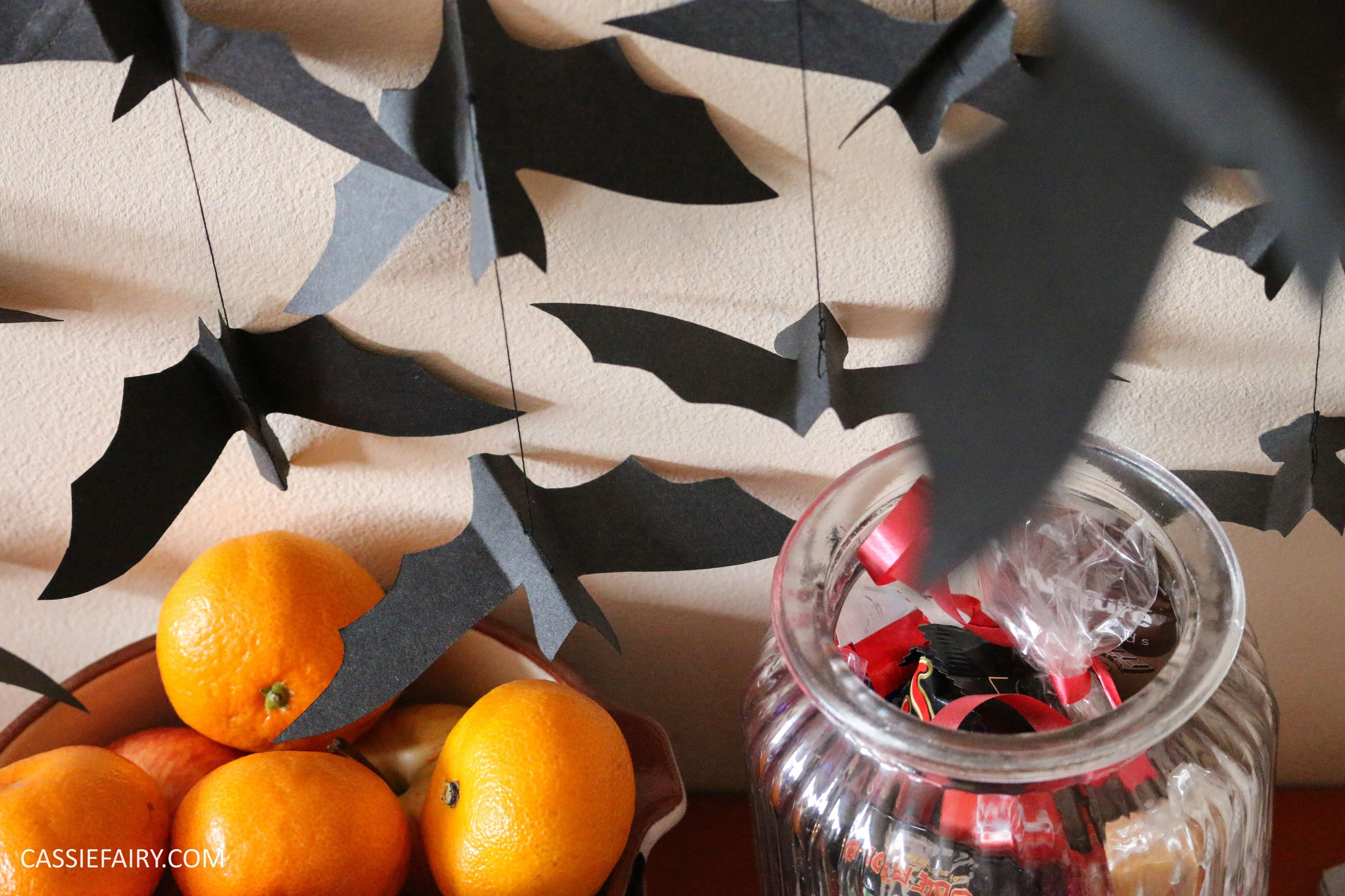 Diy Video Thrifty Halloween Decorations Flying Paper