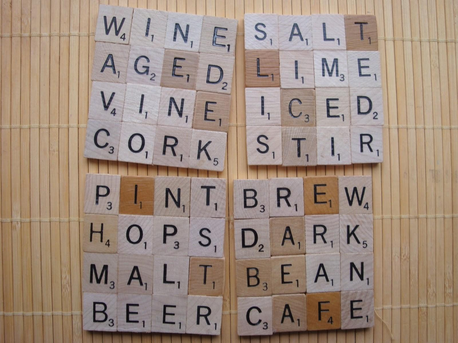 Diy Vintage Chic Scrabble Inspired Projects