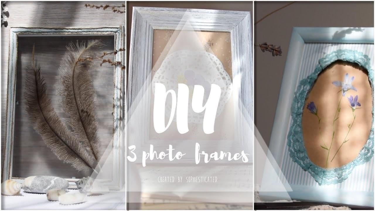 Diy Vintage Frames Easy Quick Crafts