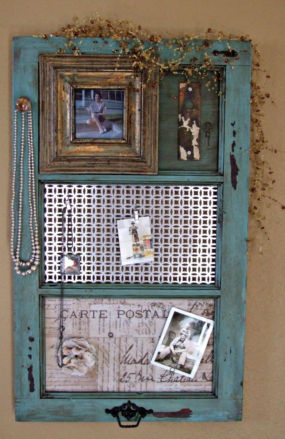 Diy Vintage Window Frame Organizer Favecrafts