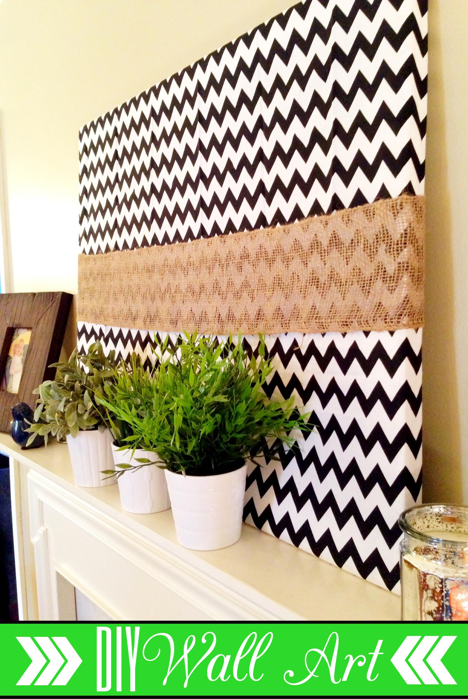 Diy Wall Art Spring Mantel Refurbished Life