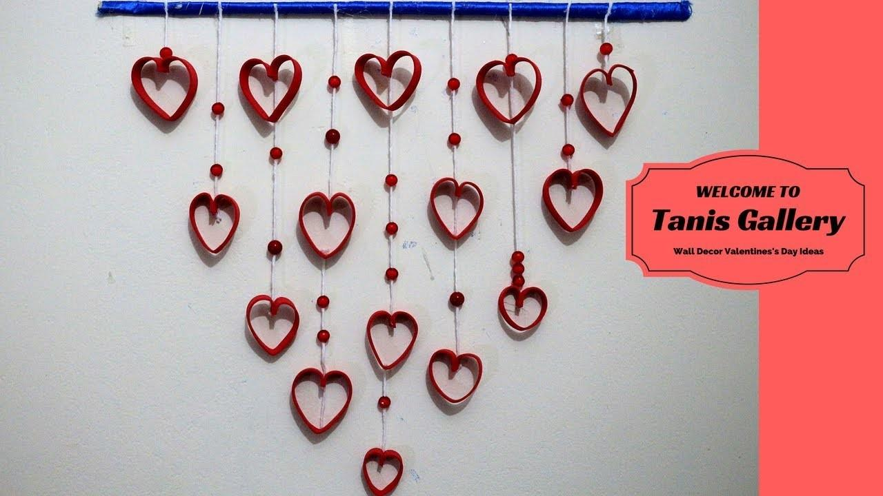 Diy Wall Decor Valentines Day Ideas Romantic