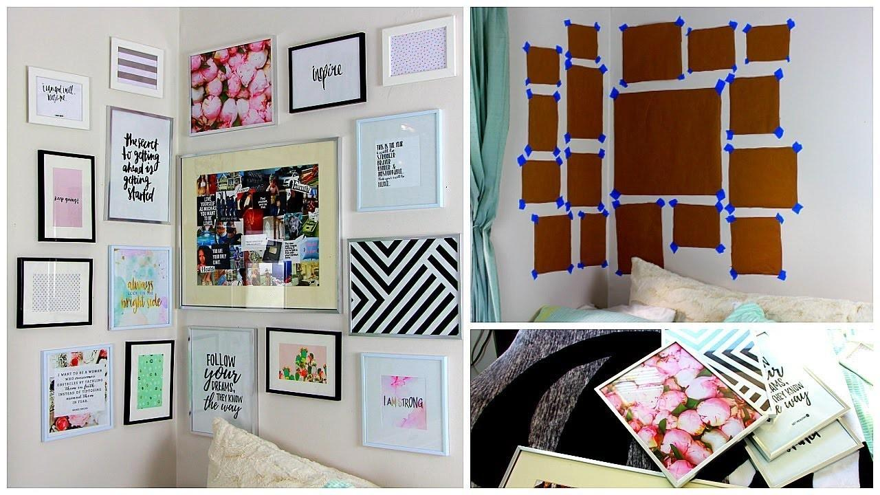 Diy Wall Easy Room Decor Budget Crafts
