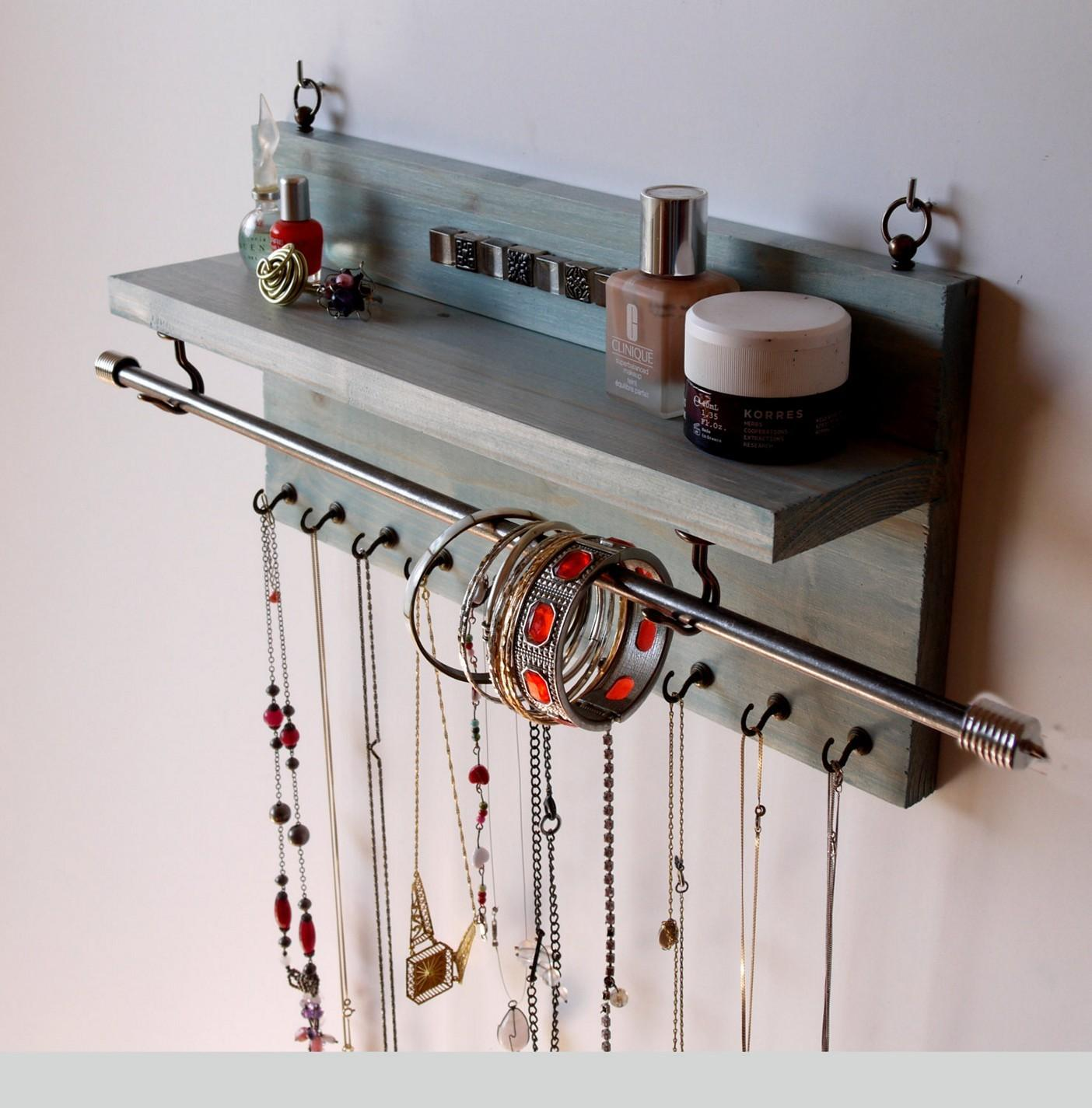 Diy Wall Hanging Jewelry Organizer Diydry