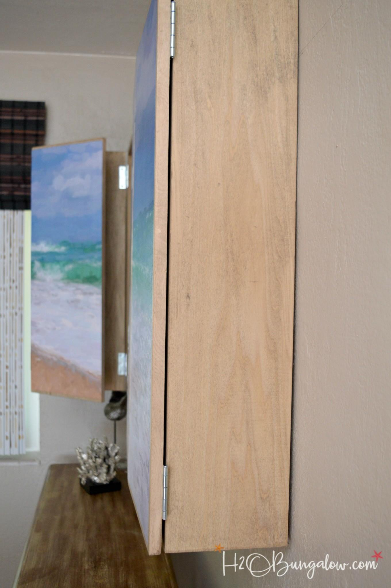 Diy Wall Mounted Cabinet Plans H20bungalow