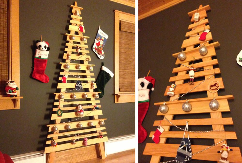 Diy Wall Mounted Christmas Tree Home Style