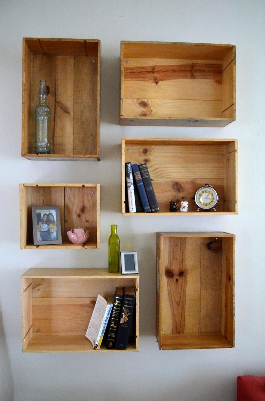 Diy Wall Shelves More Organized Interior