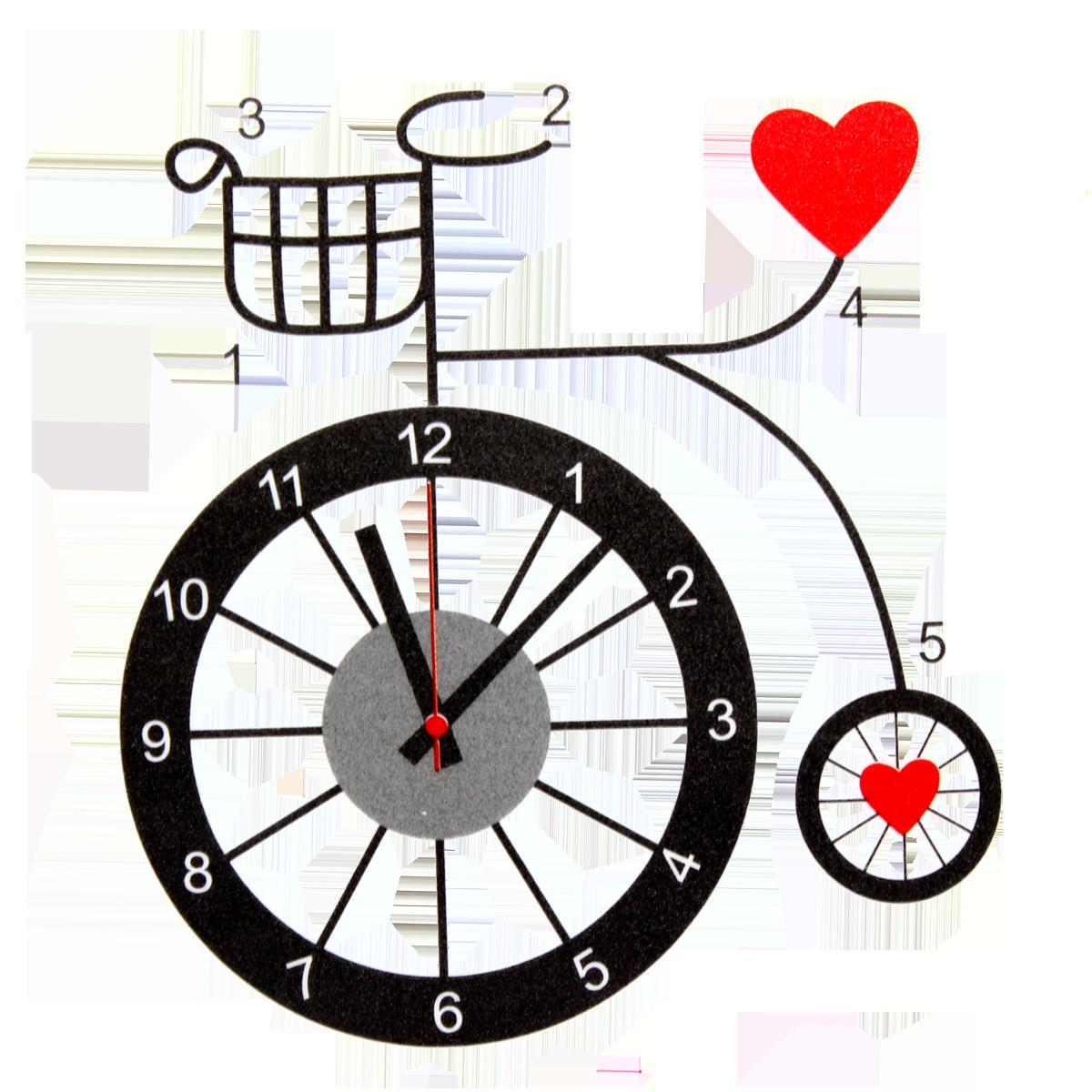 Diy Wall Sticker Clock Pvc Art Adhensive Home